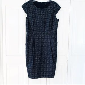 Ann Taylor Career Dress Wool Mix 12